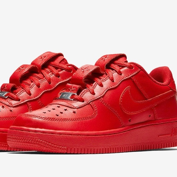 Red Nike Independence Day Air Force
